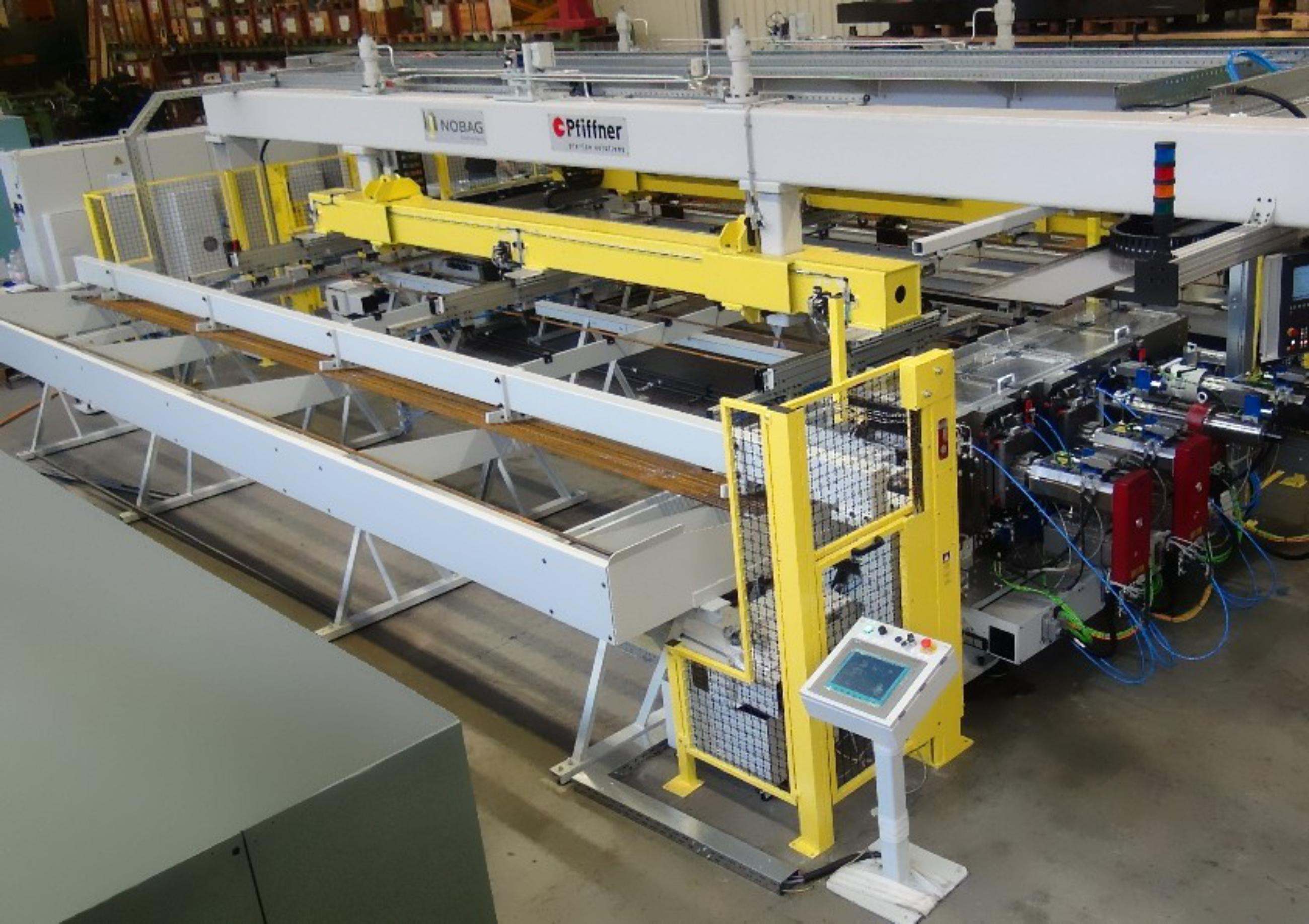 Nobag, special purpose machine, ingoing section