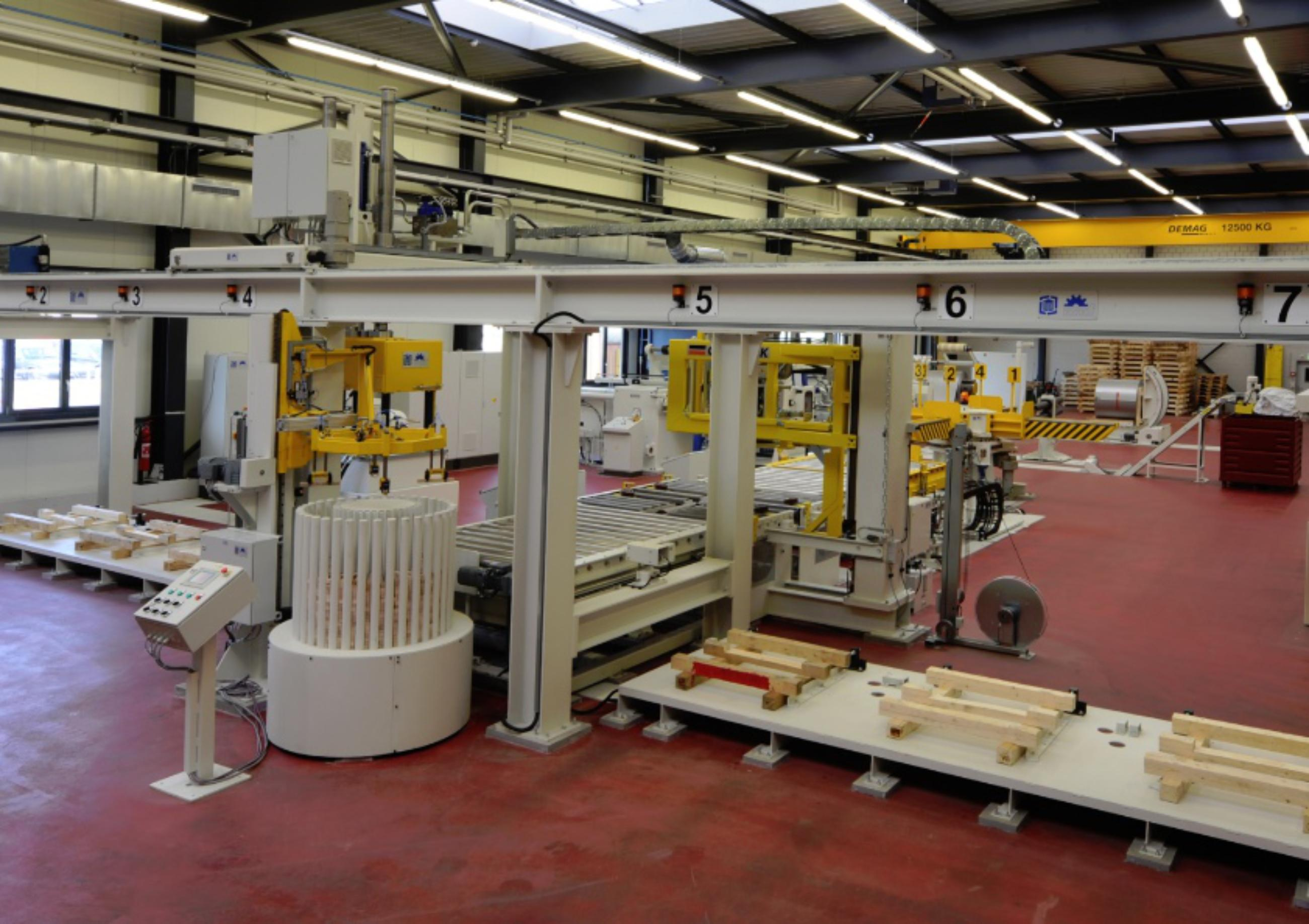 Nobag, Project example, coil packing line from HPL